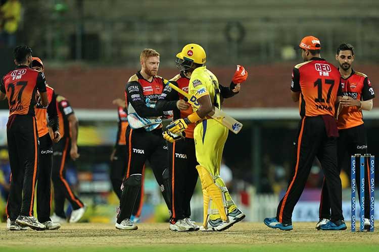 Head to Head Records Between Chennai Super Kings vs Sunrisers Hyderabad