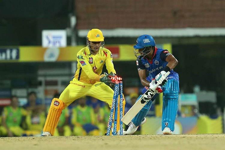 Chennai Super Kings Vs Delhi Capitals