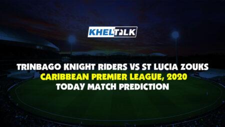 Today Match Prediction – SLZ vs TKR – CPL 2020 – 13th Match