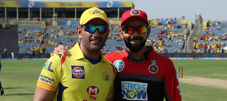 Head To Head CSK And RCB