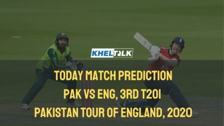 Today Match Prediction – ENG vs PAK – 3rd T20I – Pakistan Tour of England