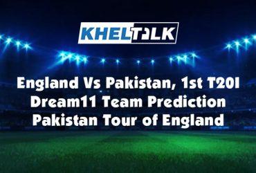 PAK vs ENG 1st T20I - Dream11 Team Prediction   Match Prediction   Pitch Report   Toss prediction – Pakistan Tour of England