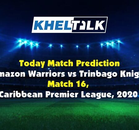 Today Match Prediction – TKR vs GUY – CPL 2020 – 16th Match