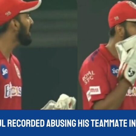 Watch: KL Rahul recorded abusing his teammate in Kannada against DC
