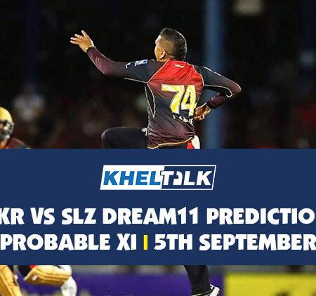 TKR vs SLZ Dream11 Prediction | Probable XI | 5th September