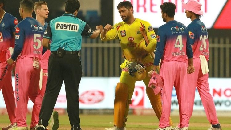 CSK fails to chase