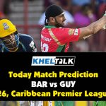 CPL 2020: GUY vs BAR   Today Match Prediction   Who will win the match