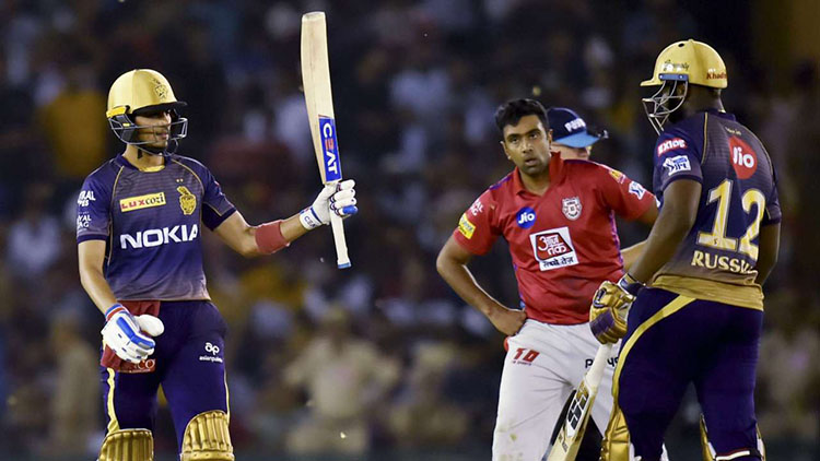 Kings XI Punjab vs Kolkata Knight Riders Head to Head