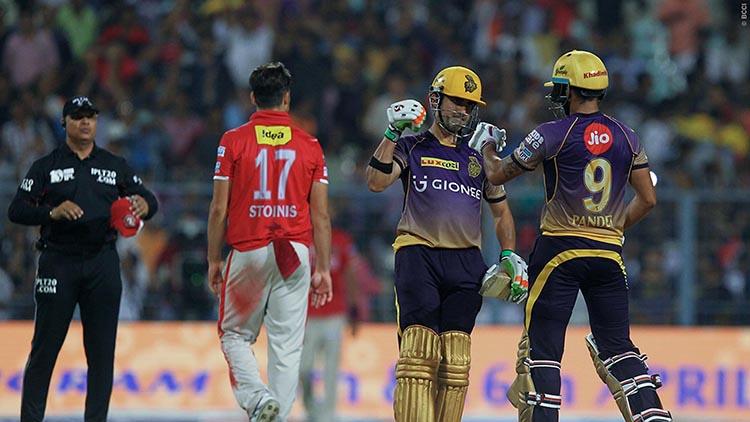 Kolkata Knight Riders vs Kings XI Punjab Head to Head