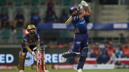 Rohit Sharma shines as Mumbai Indians wins it over KKR by 49 runs
