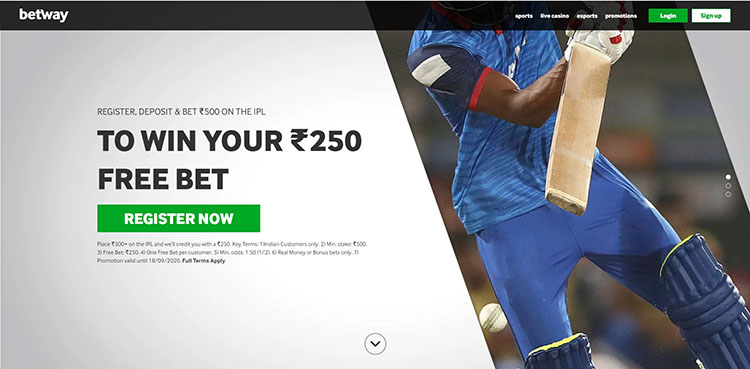 Why Betway is the best place for Betting in IPL