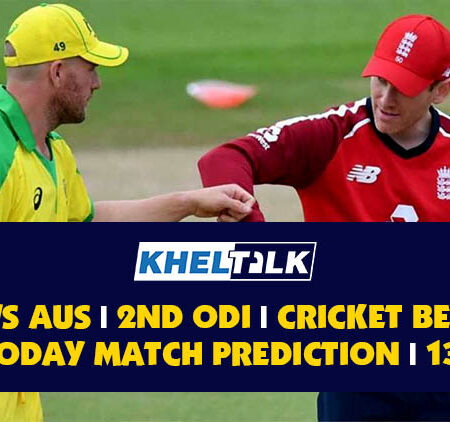 AUS vs ENG   2nd ODI   Cricket Betting Tips   Today Match Prediction   13th September