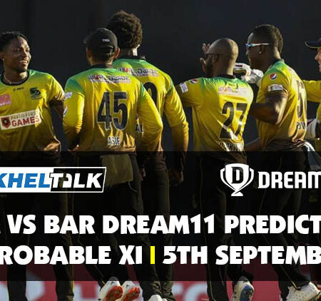JAM vs BAR Dream11 Prediction | Probable XI | 5th September | CPL 2020