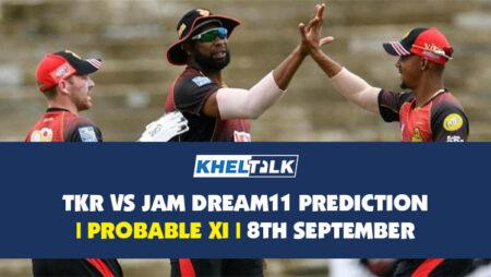 TKR vs JAM Dream11 Prediction   Probable XI   8th September   CPL 2020