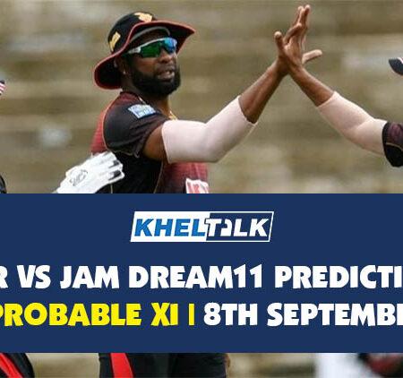 TKR vs JAM Dream11 Prediction | Probable XI | 8th September | CPL 2020