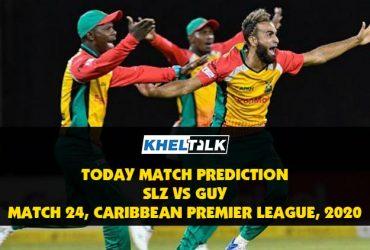 SLZ vs GUY  Today Match Prediction