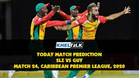 CPL 2020: SLZ vs GUY | Today Match Prediction | Who will win the match, 3rd September