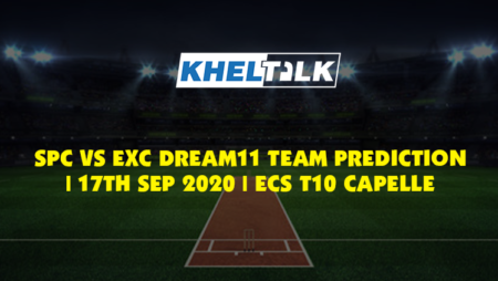SPC vs EXC Dream11 Team Prediction | 17th Sept 2020 | ECS T10 Capelle