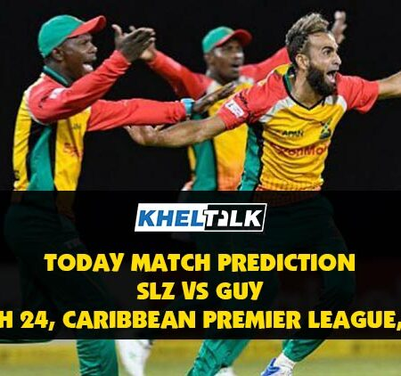 CPL 2020: SLZ vs GUY   Today Match Prediction   Who will win the match, 3rd September