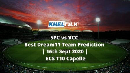 SPC vs VCC Best Dream11 Team Prediction | 16th Sept 2020 | ECS T10 Capelle