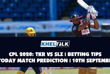 CPL 2020: TKR vs SLZ   Betting Tips   Today Match Prediction   10th September