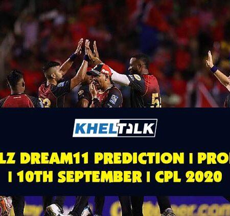 TKR vs SLZ Dream11 Prediction | Probable XI | 10th September | CPL Final 2020