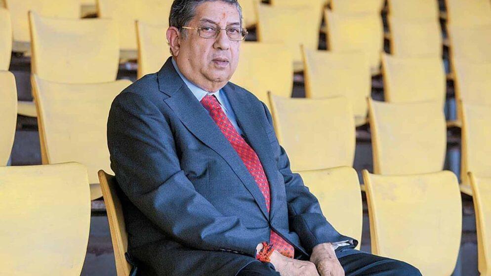 'Suresh Raina is like a son. But don't own him,' says N. Srinivasan