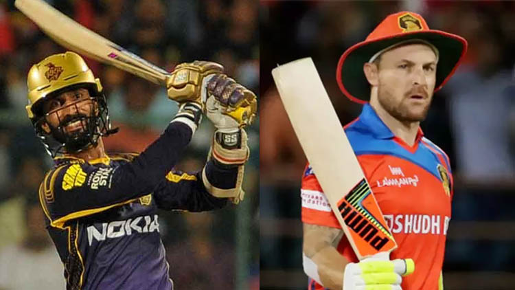 """""""There'll be a nice layer of leadership around Dinesh Karthik,"""" says Brendon McCullum"""