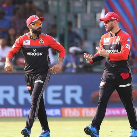 Virat Kohli changes name to Simranjeet & AB de Villiers changes to Paritosh ahead of SRH clash