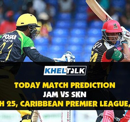 CPL 2020: JAM vs SKN | Today Match Prediction | Who will win the match, 3rd September