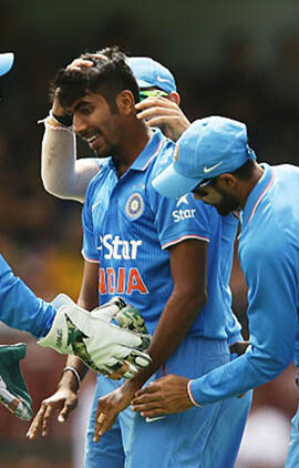 """You could've won us this series,"" MS Dhoni to Jasprit Bumrah on debut"