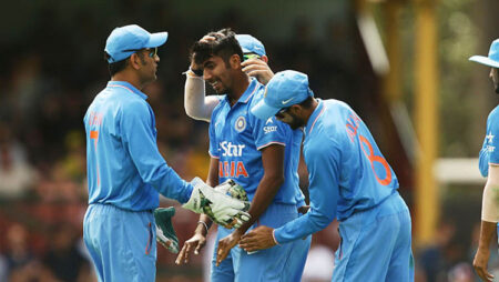 """""""You could've won us this series,"""" MS Dhoni to Jasprit Bumrah on debut"""
