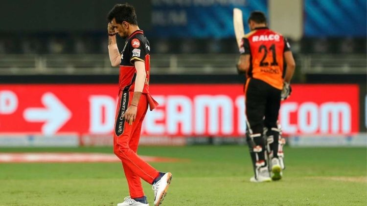 Chahal saves RCB from an opening match defeat against SRH