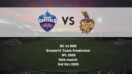 DC vs KKR Dream11 Team Prediction   IPL 2020   16th match   3rd Oct 2020