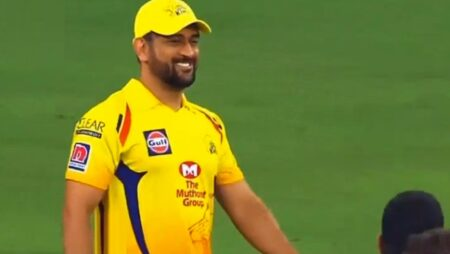 Watch: MS Dhoni funnily mimics Chris Gayle style of walking post-CSK vs KXIP match