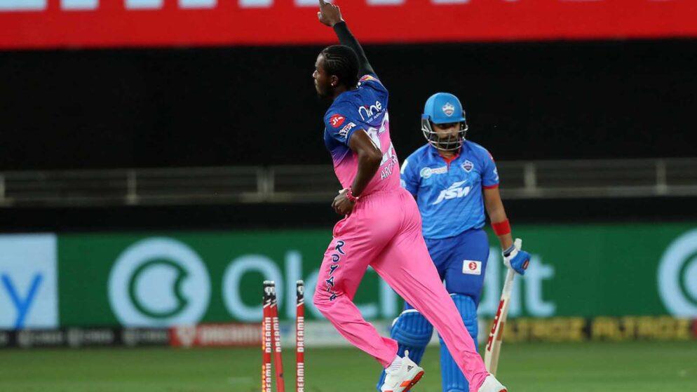 Watch: Jofra Archer Celebrates Prithvi Shaw's Wicket With Bihu Dance Against DC