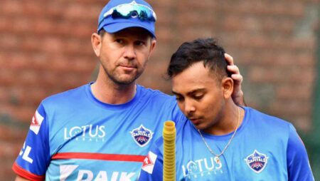 """Prithvi Shaw is technically very good,"" says DC's coach Ricky Ponting after DC crushes RCB by 59 runs"