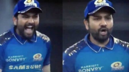 """Beh*****d,""- Rohit Sharma Caught Using a Cuss Word During MI vs KXIP Game: Watch"