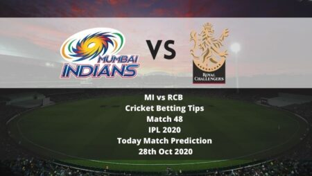 MI vs RCB | Cricket Betting Tips | Match 48 | IPL 2020 | Today Match Prediction | 28th Oct 2020