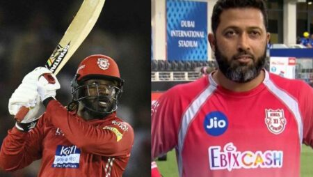 KXIP Batting Coach Wasim Jaffer Hints On Chris Gayle's Comeback For the Team in IPL 2020