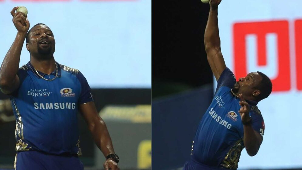Watch: Kieron Pollard takes a world-class catch to dismiss Jos Buttler in RR vs MI game