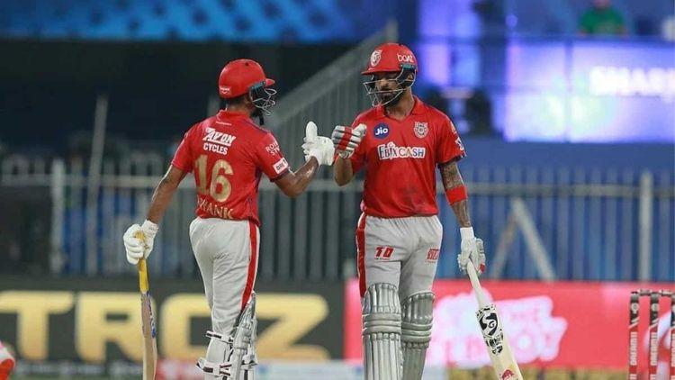 183 runs: KL Rahul and M Agarwal, KXIP vs RR, IPL 2020