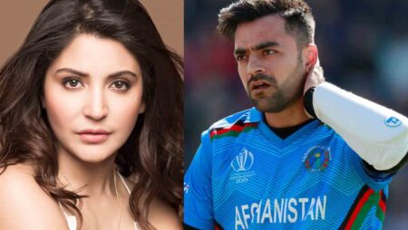 Why Google Search Shows Afghanistan Cricketer Rashid Khan wife is Anushka Sharma