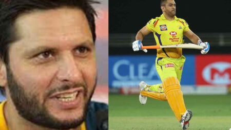 'He Doesn't Deserve Such Treatment' – Shahid Afridi Takes a Sly Dig On MS Dhoni Haters