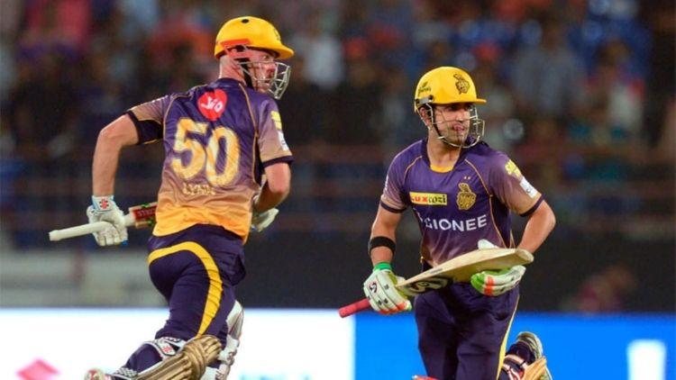 184* runs: G Gambhir and Chris Lynn, KKR vs Guj Lions, IPL 2017