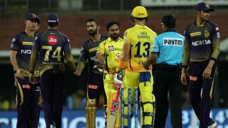 MS Dhoni is not happy with his batsmen performance against KKR