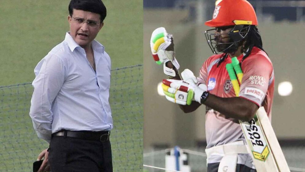 IPL 2020: It Pinched Chris Gayle that He Has Been Made to Sit Out: Sourav Ganguly on Chris Gayle
