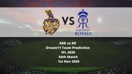 KKR vs RR Dream11 Team Prediction | IPL 2020 | 54th Match | 1st Nov 2020