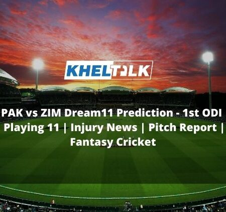 PAK vs ZIM Dream11 Prediction | 1st ODI | Playing 11 | Injury News | Pitch Report | Fantasy Cricket