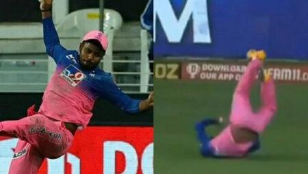 'How much it hurts' – Sachin Tendulkar lauds Sanju Samson for his catch